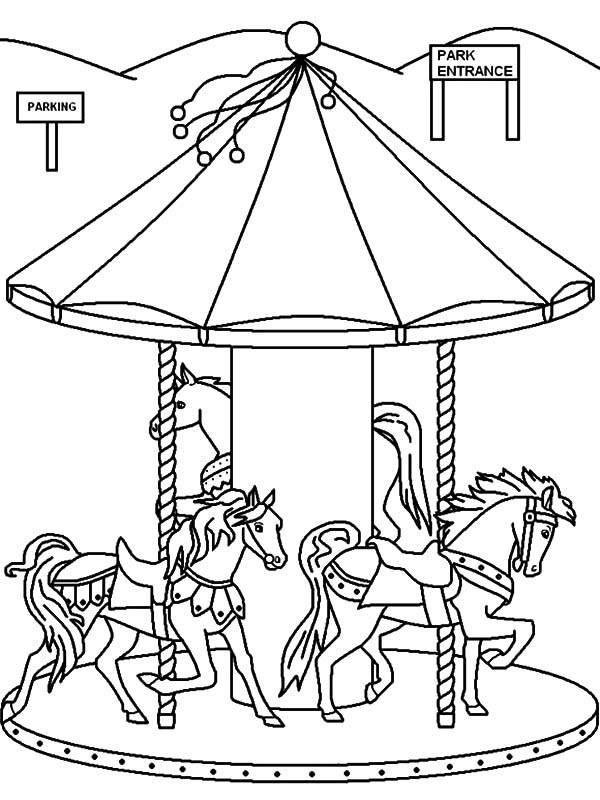 State Fair Coloring Pages Printable Coloring Pages