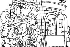 Carnival Ferris Wheel Coloring Pages : Best Place to Color