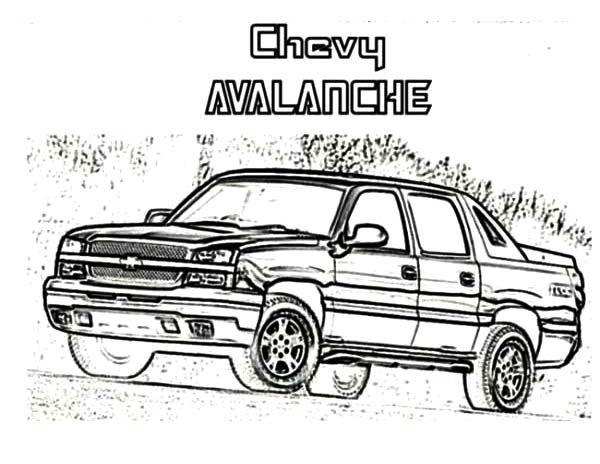 64 Chevy Cars Impala Coloring Pages: 64 Chevy Cars Impala
