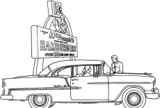 Chevy Cars Malanche Coloring Pages : Best Place to Color
