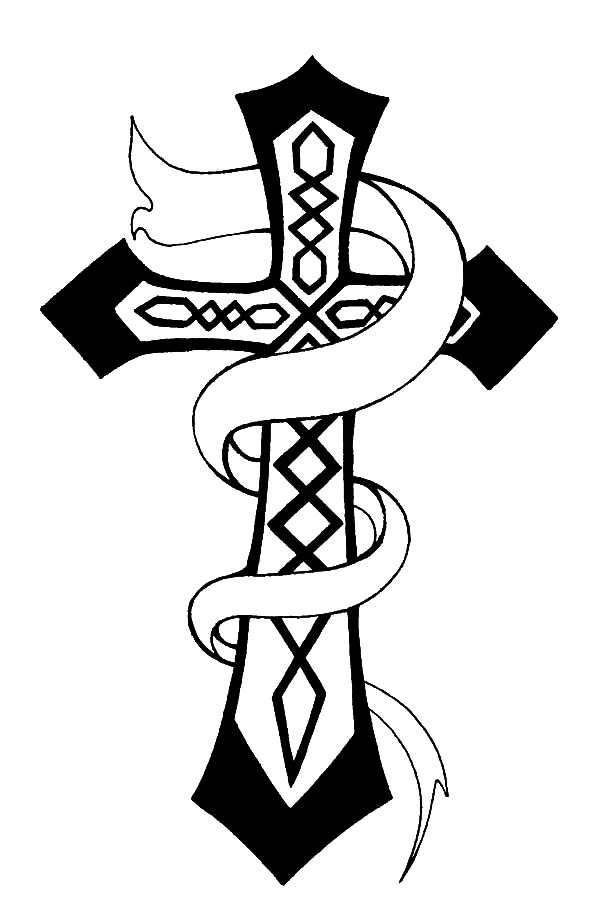 christian celtic cross coloring pages  best place to color