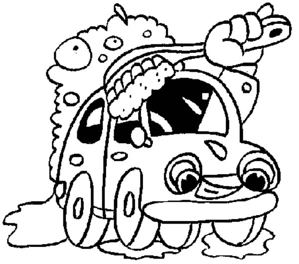 Suds And Finley Car Wash Coloring Pages : Best Place to Color