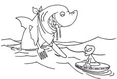 Bull Shark Jaws Coloring Pages : Best Place to Color