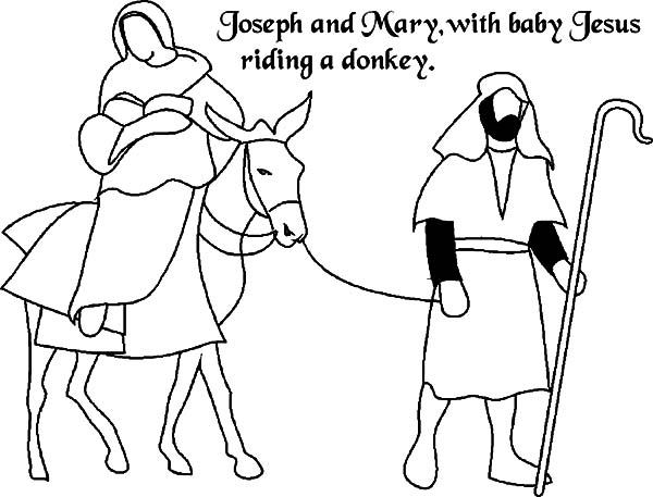 No Room at the Inn for Mary and Joseph and the Donkey