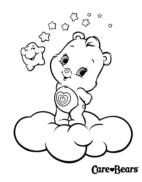 Best Friend Care Bear Coloring Page Coloring Pages
