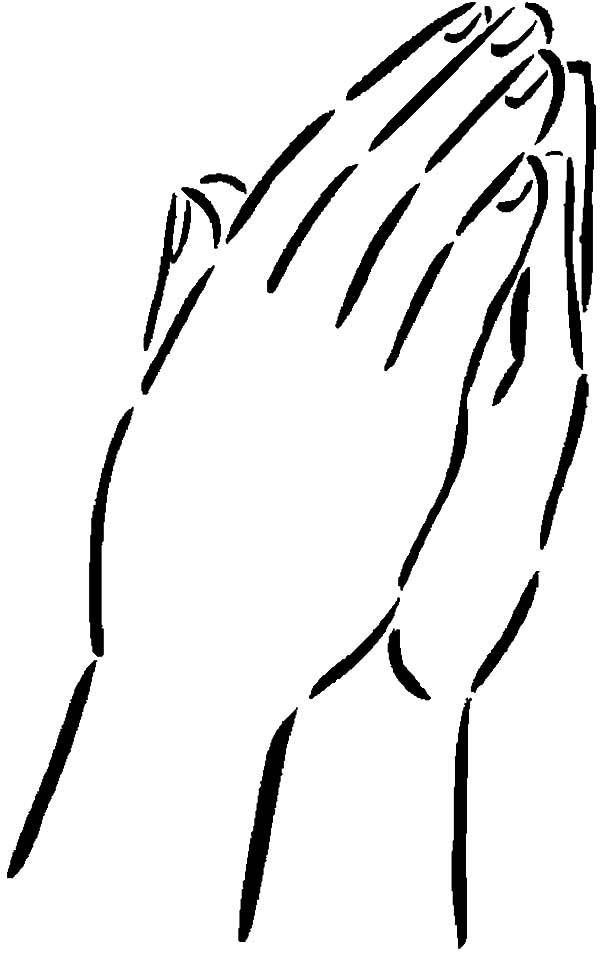 pair of hands coloring pages  best place to color