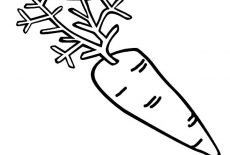 C Is For Carrot Coloring Pages : Best Place to Color