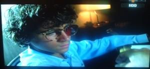 Dalla fiction della Rai A fari spenti nella notte Stefano ricorda gli occhiali che il padre ha creato per lui
