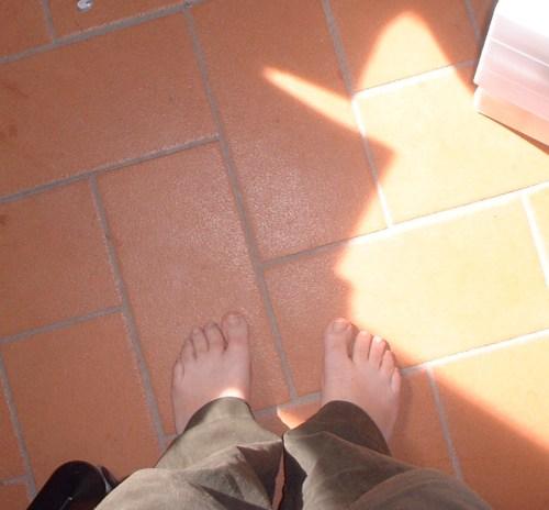 Quanto sono lontani i piedi?