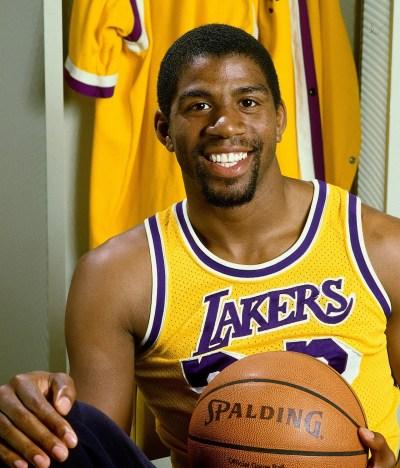 Magic Johnson atleta