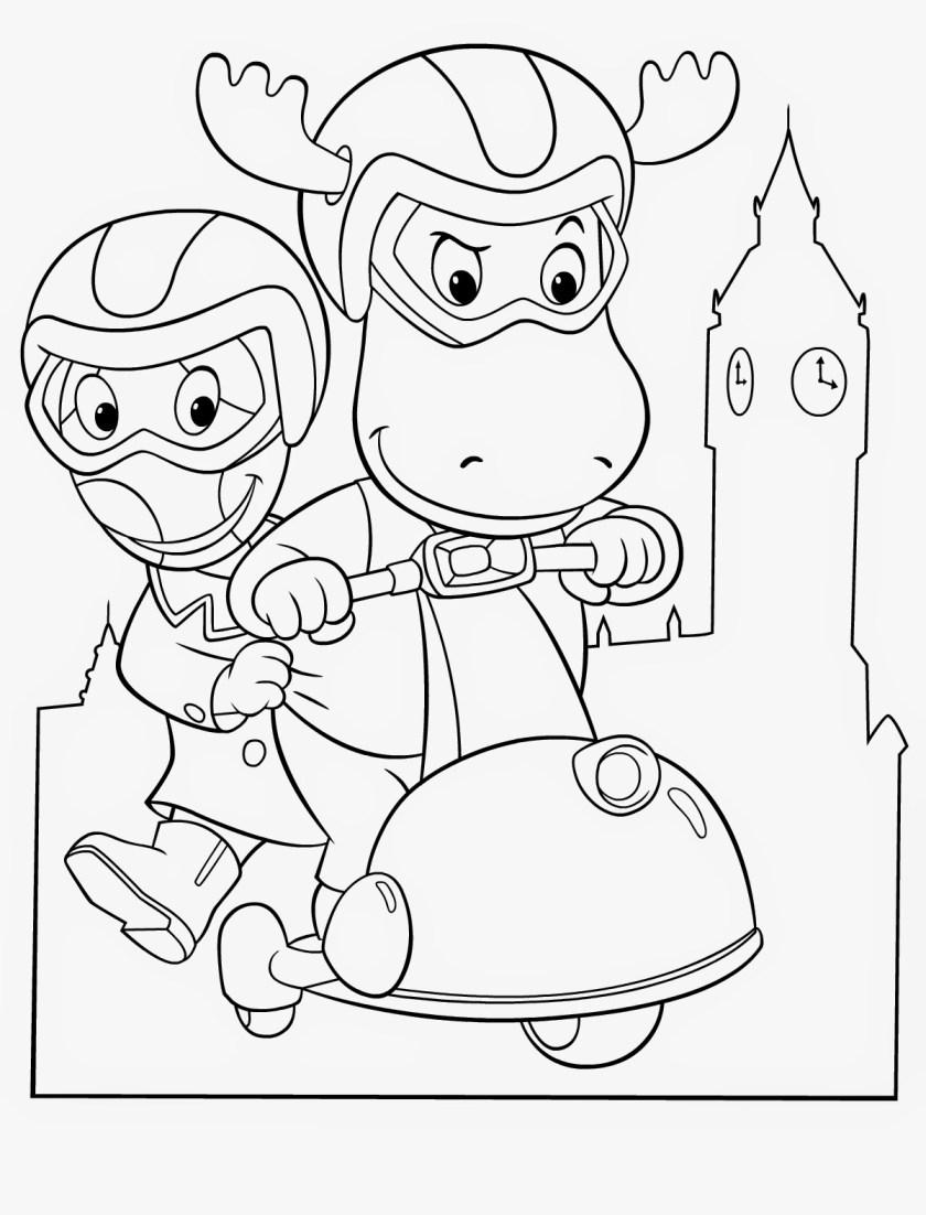 desenhos do backyardigans para colorir e imprimir  toda atual
