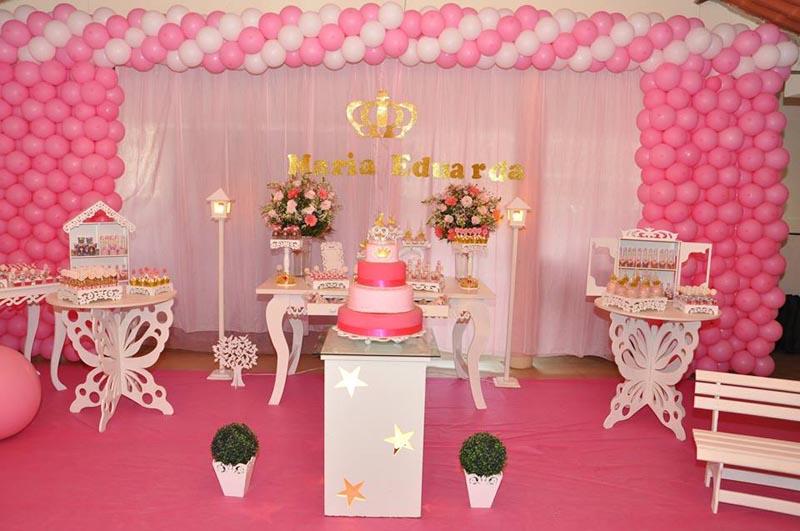 Festa Infantil Ursinha Princesa  Ideias de Decorao