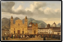 Plaza de Bolivar 20 de julio 1810