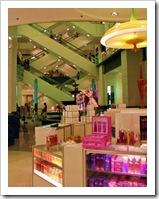 Perfumería en un centro comercial