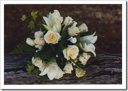 Flores para la novia