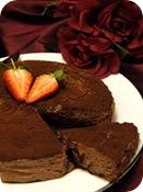 Tarta pastel de chocolate cake