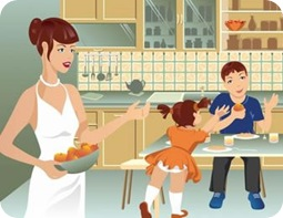 Las labores del hogar