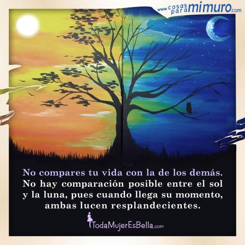 No compares tu vida con la de los demás
