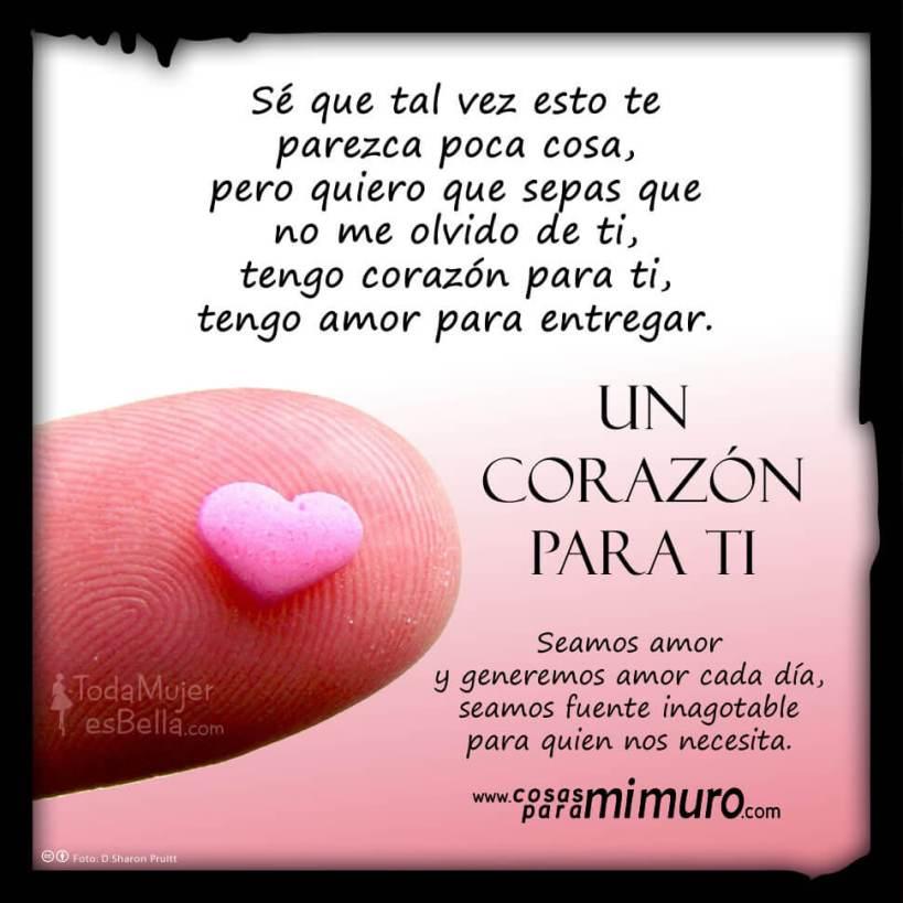 Un corazon para ti