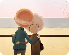 La abuela… ¿una novia enamorada?