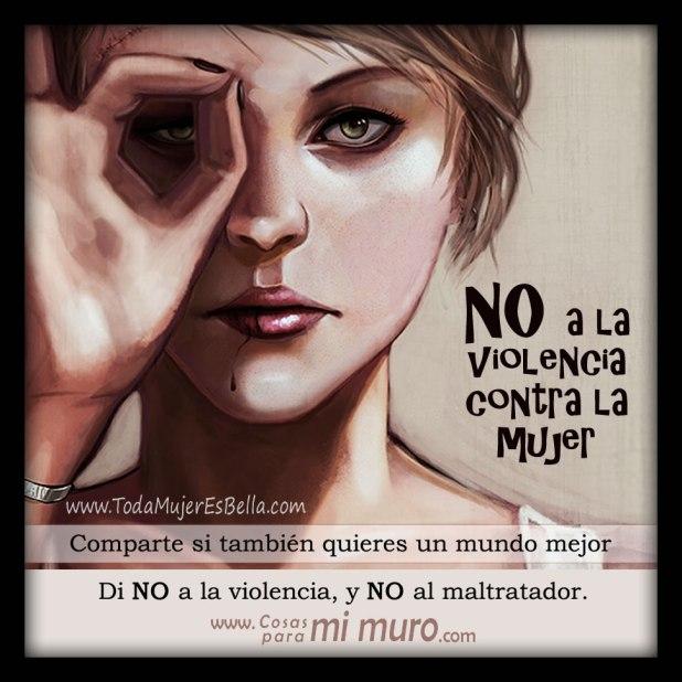 Imágenes contra el maltrato a la mujer y violencia de género