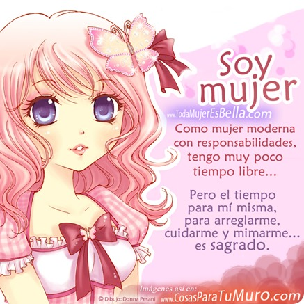 Soy mujer, me cuido