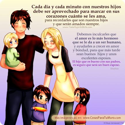 El tiempo con nuestros hijos...