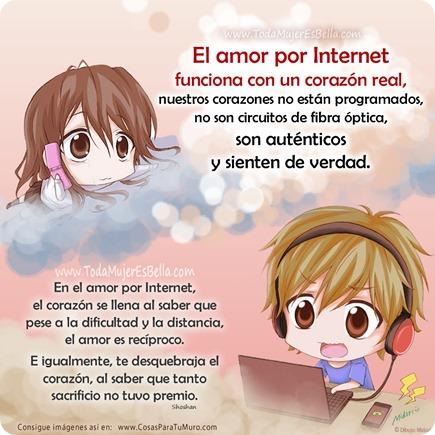 El amor por Internet es real