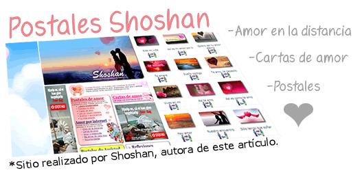 Postales Shoshan - Amor en la distancia, cartas y postales