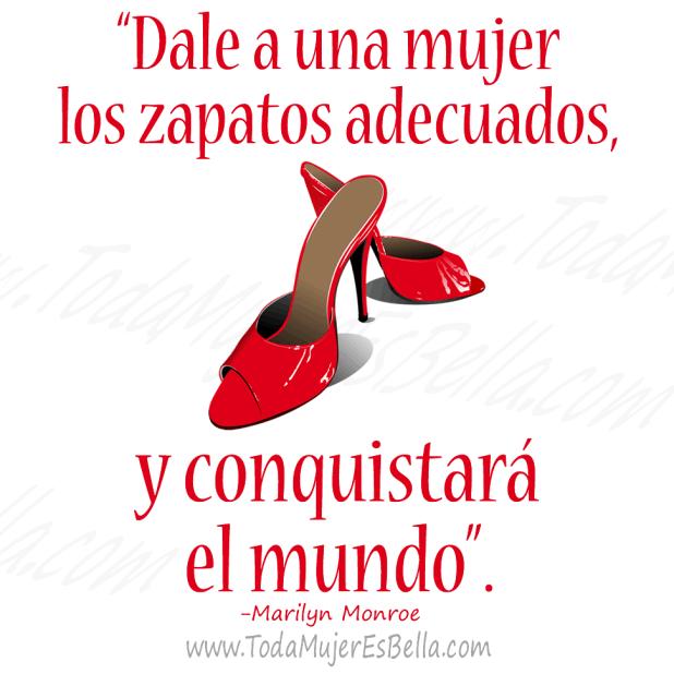 Dale a una mujer los zapatos adecuados, y conquistará el mundo
