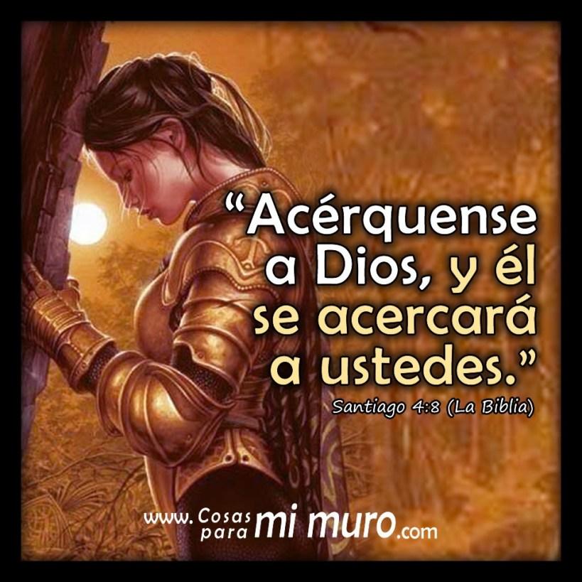 Acérquense a Dios, y él se acercará a ustedes