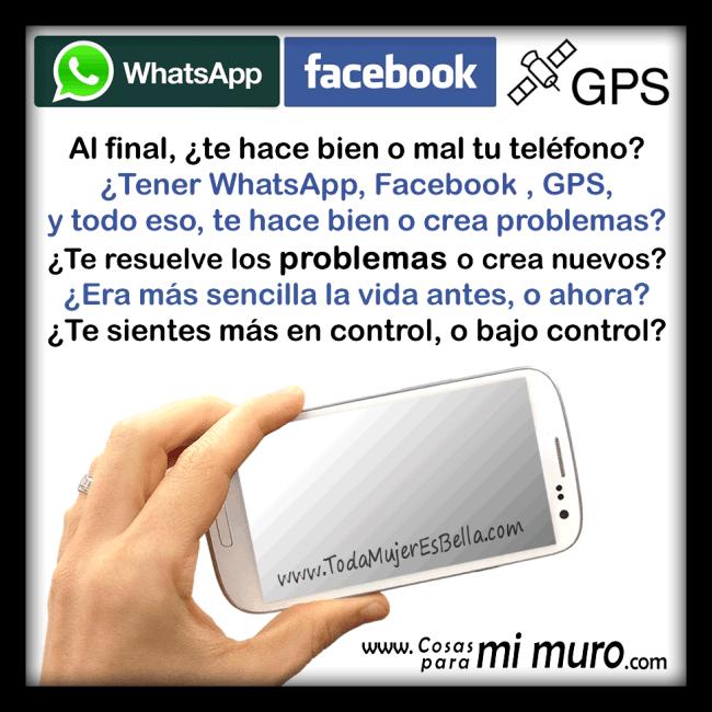 Al final, ¿te hace bien o mal tu teléfono?