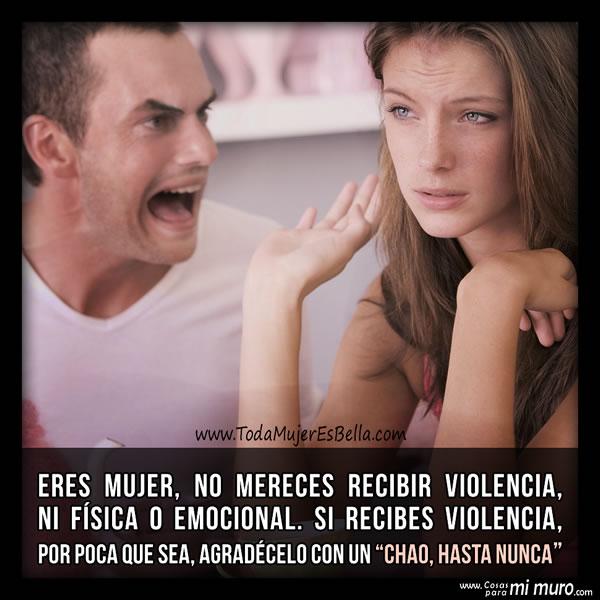 No aceptes la violencia