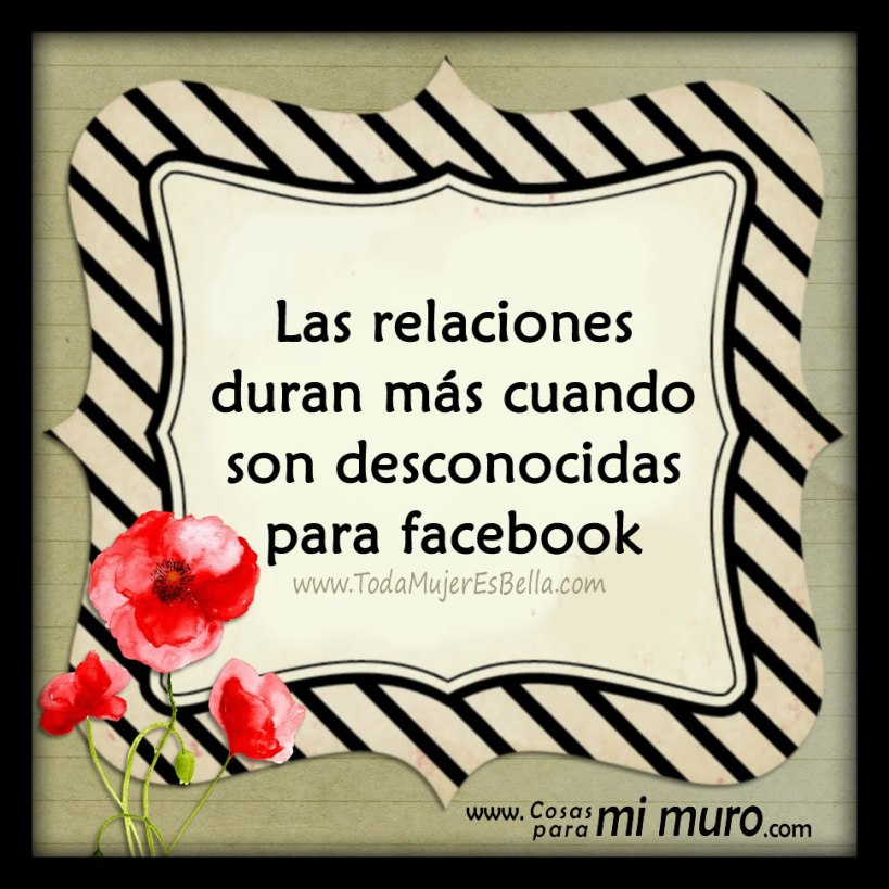 Las relaciones duran menos en facebook
