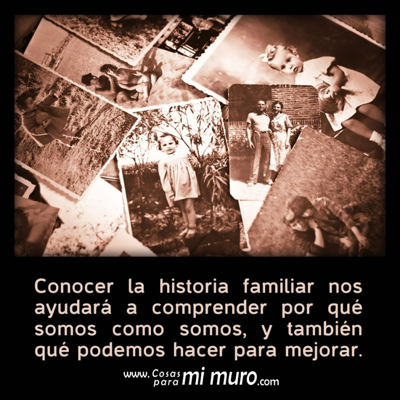 Conocer la historia familiar