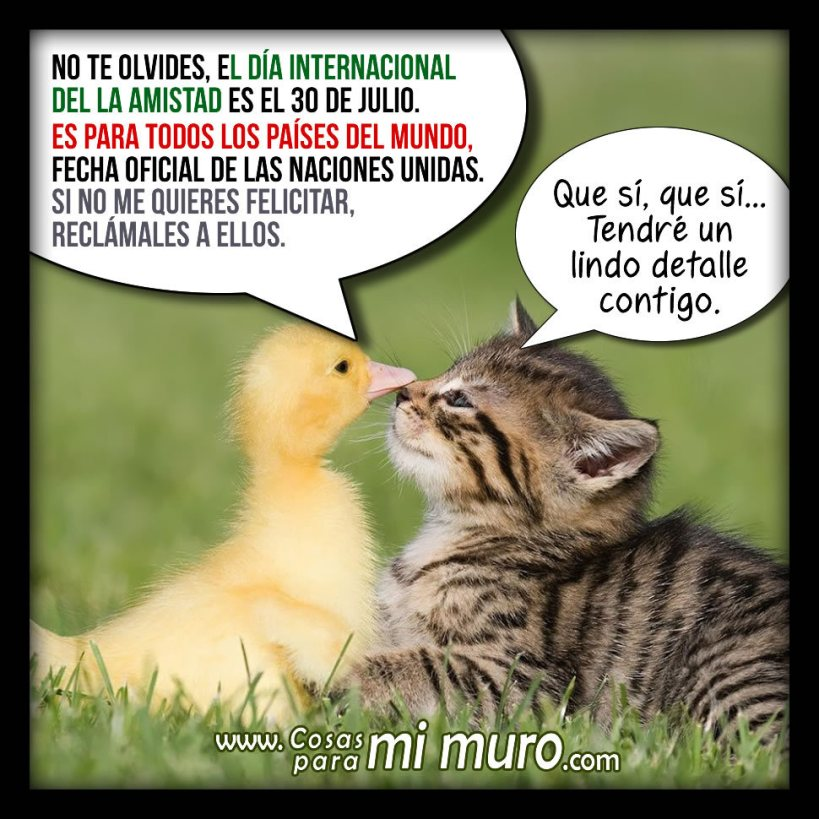 Día Internacional de la Amistad