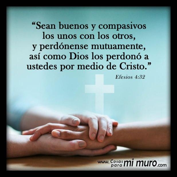 Efesios 4:32, el perdón