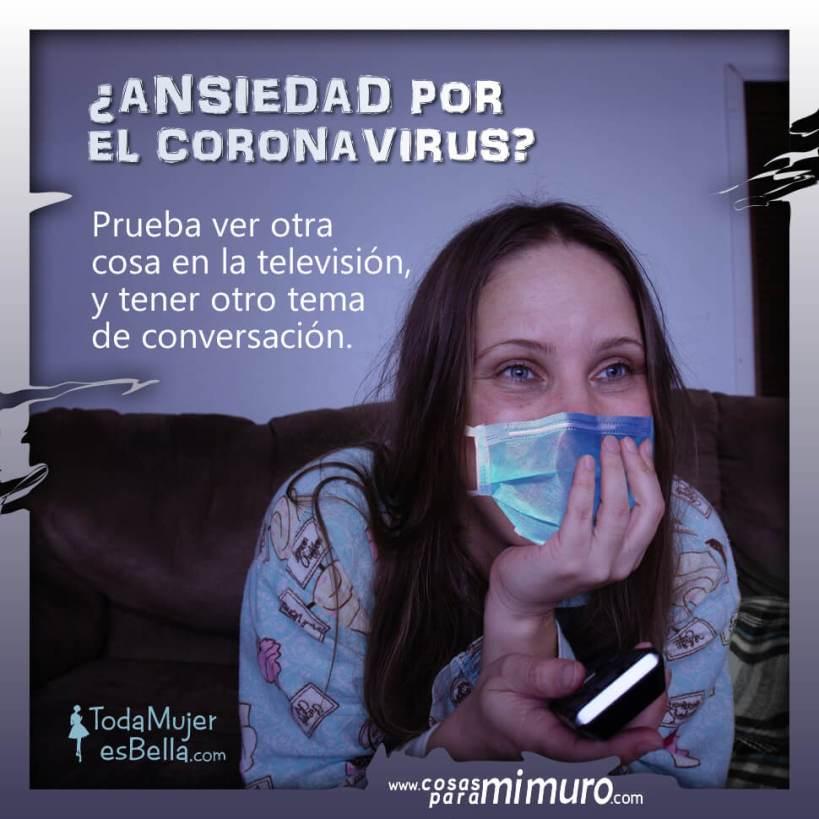 ¿Ansiedad por el coronavirus?