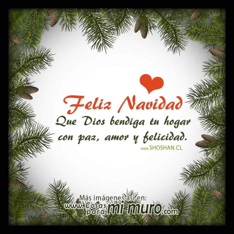 Feliz Navidad, Dios bendiga tu hogar