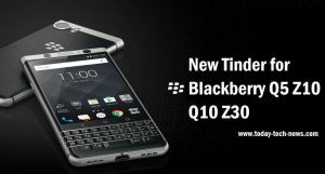 New Tinder For Blackberry