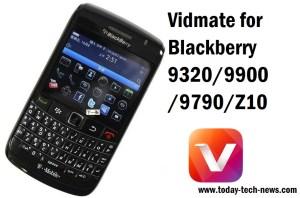 Vidmate For Blackberry