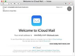 welcome new icloud