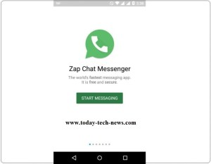 Zap Chat Messenger app