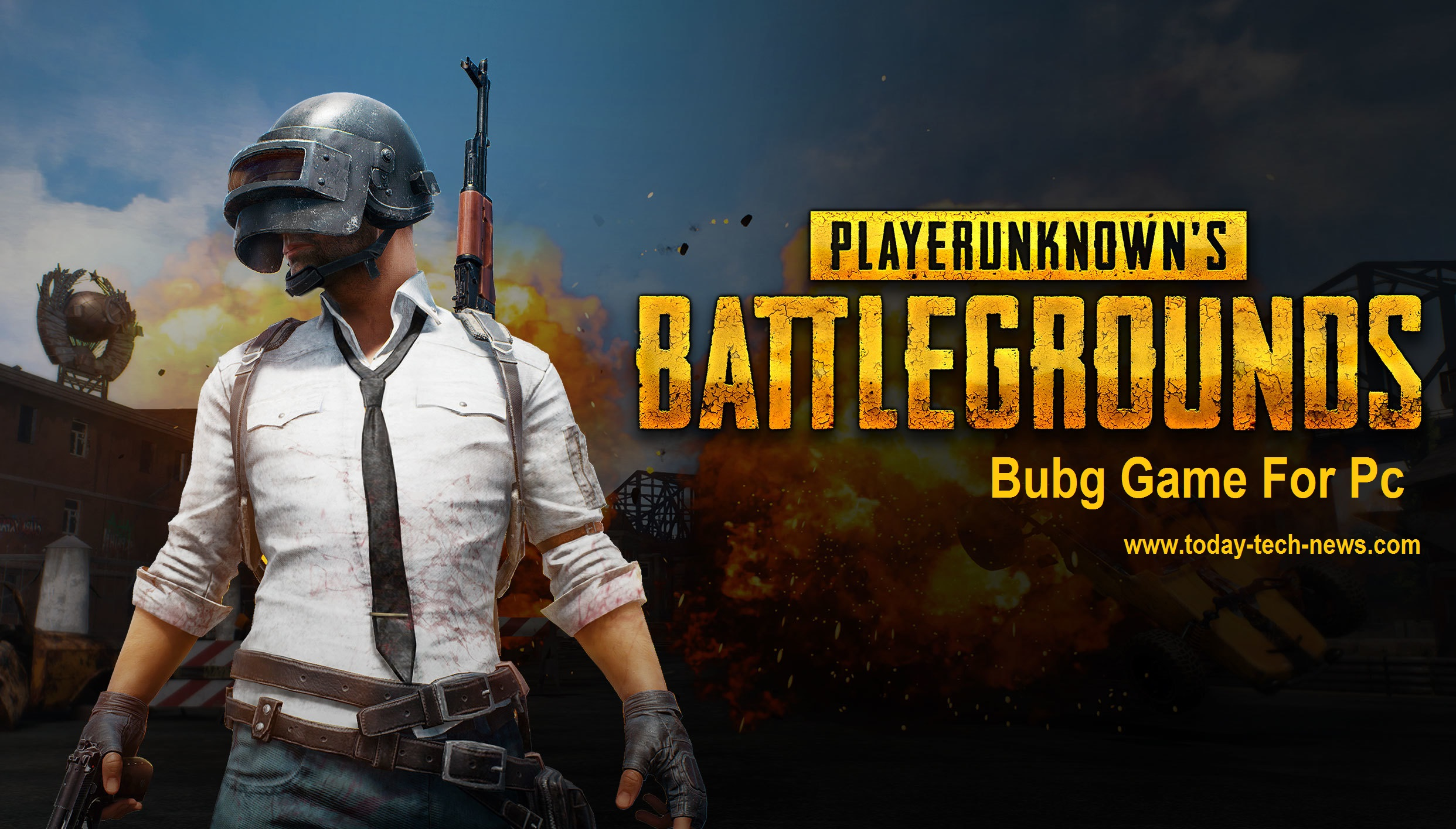 PUBG Game Download For PC Windows (7, 8, 10)