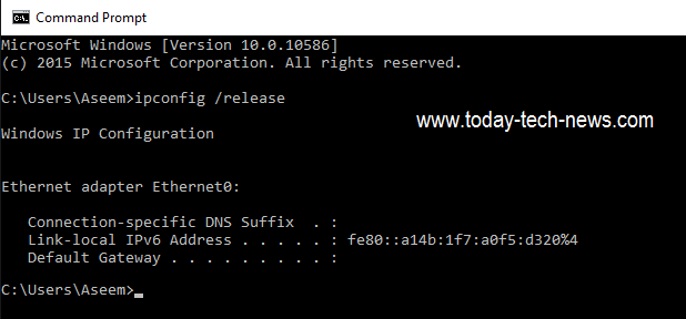 release-ip-address