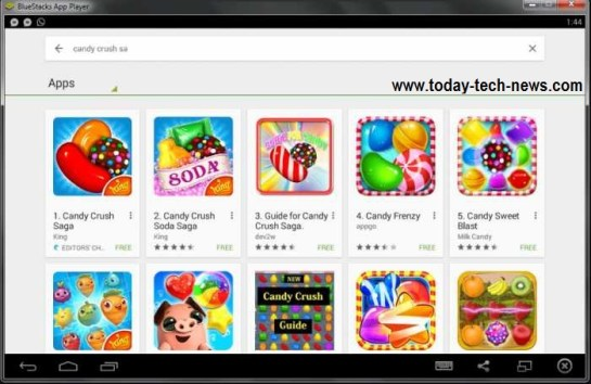 candy crush saga for PC free download for windows