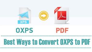 convert OXPS to pdf