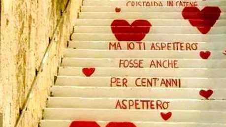 La scalinata dell'amore, tappa romantica a Vieste