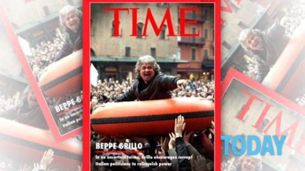 Grillo intervista Time
