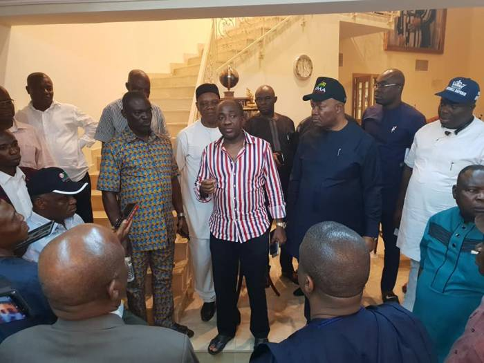 The All Progressives Congress (APC) in Akwa Ibom State has reportedly picked Godswill Akpabio as its consensus candidate for the 2019 Senate election for Akwa Ibom North-West district 1